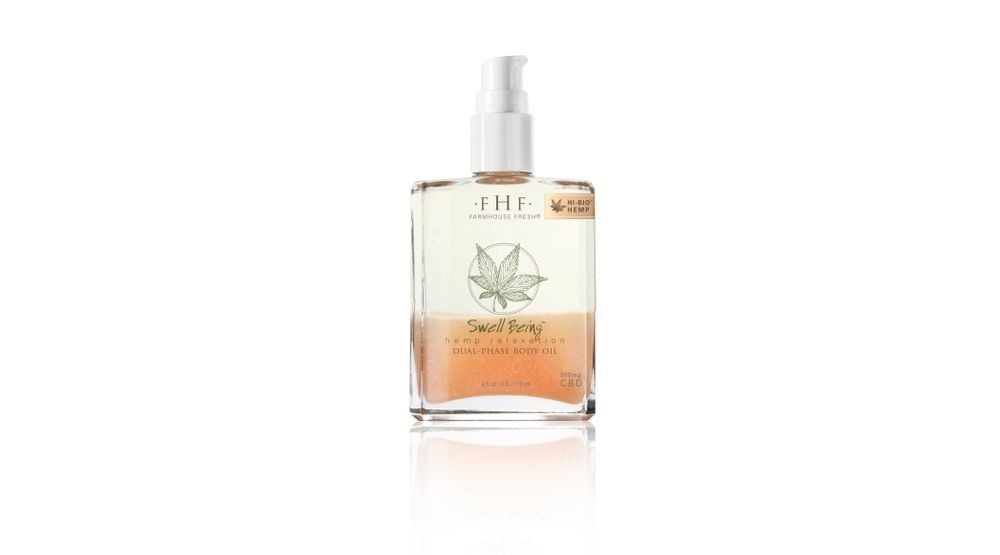 Farmhouse Fresh Swell Being Hemp Relaxation Dual-Phase Body Oil