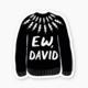 Nicole Marie Paperie Sticker - Ew David