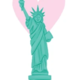 Nicole Marie Paperie Sticker - Statue of Liberty