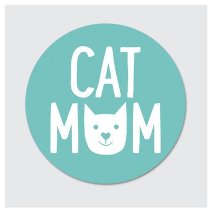 Rock Scissor Paper Sticker- Cat Mom-FINAL SALE
