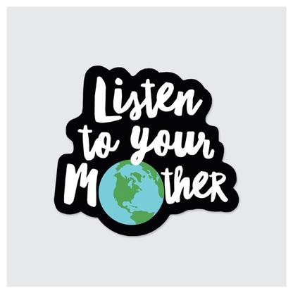Rock Scissor Paper Sticker- Mother Earth