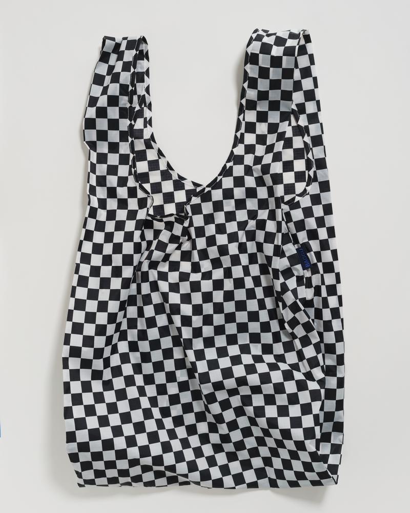 Baggu Big Baggu - Black Checkerboard