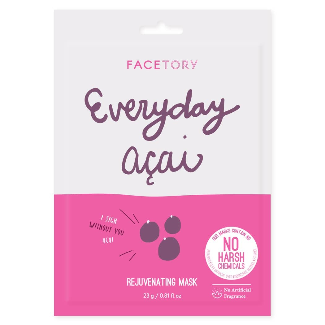 FaceTory Everyday, Acai Rejuvenating Mask