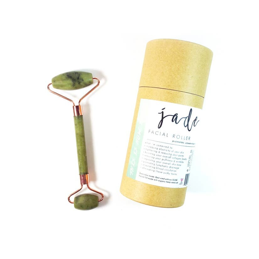 Honey Belle Facial Roller - Jade