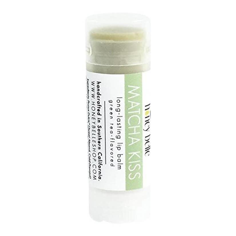 Honey Belle Lip Balm - Matcha Kiss (Green Tea)