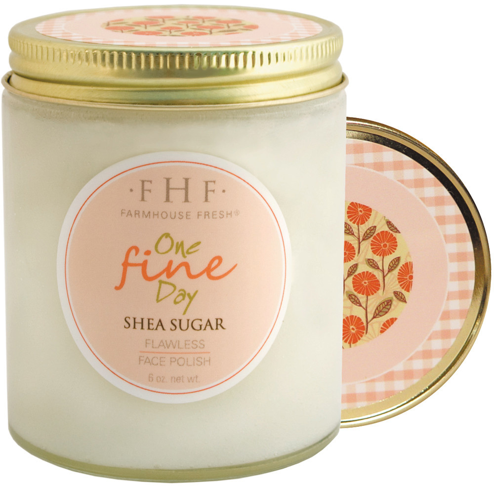 Farmhouse Fresh One Fine Day Shea Sugar Facial Polish