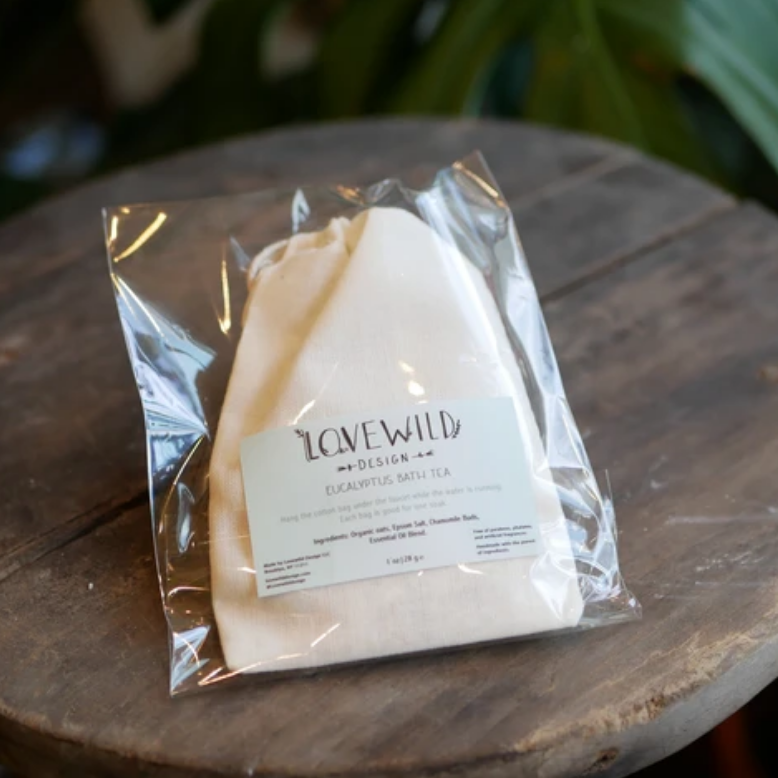 Lovewild Eucalyptus Bath Tea