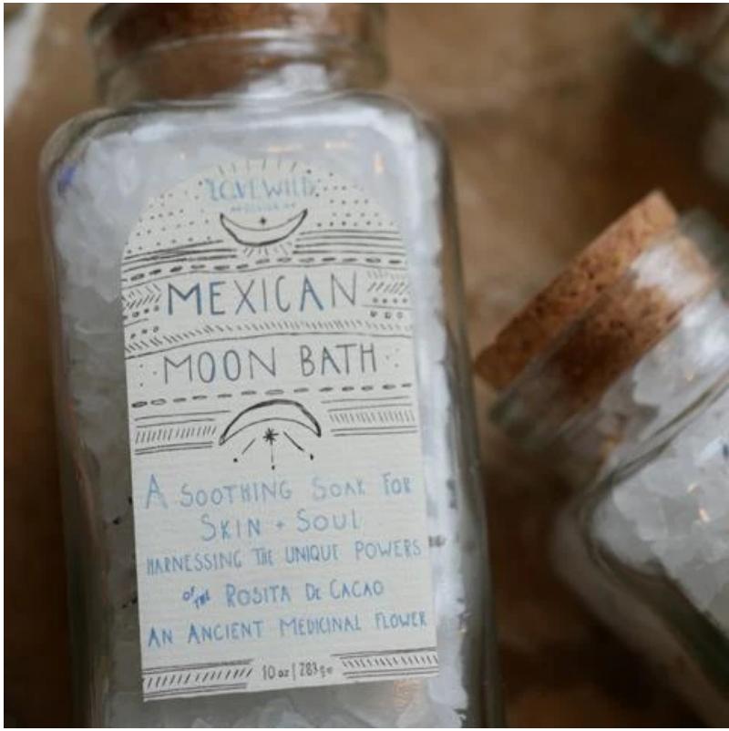 Lovewild Mexican Moon Bath Large