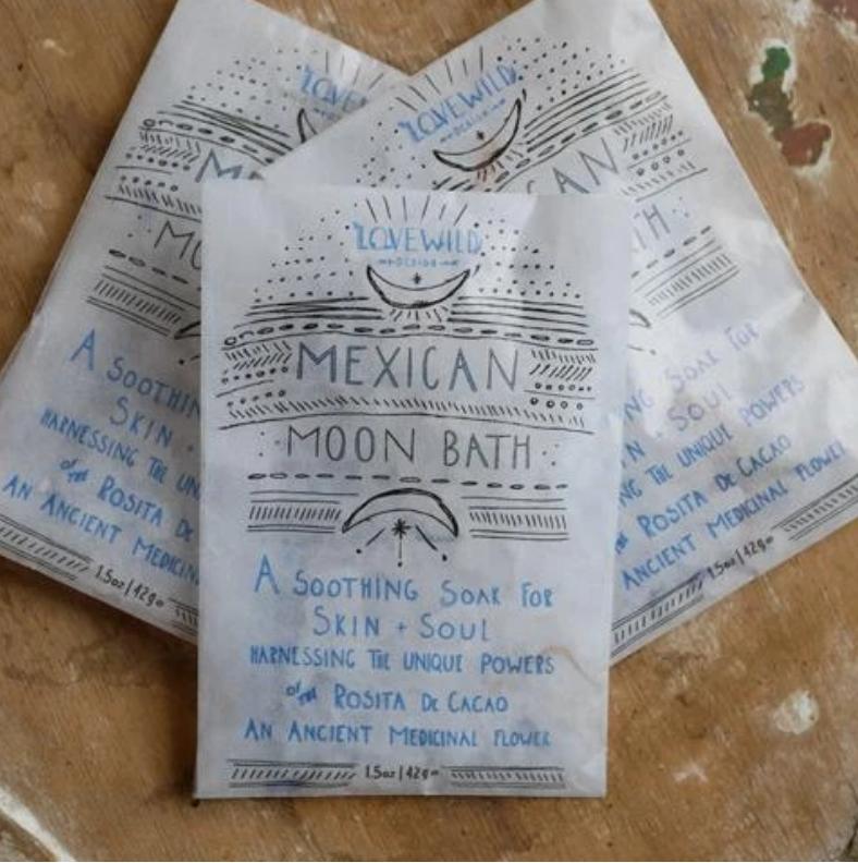 Lovewild Mexican Moon Bath Small