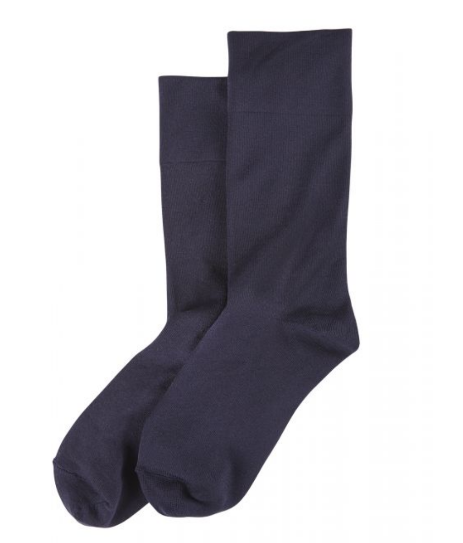 Ultra Smooth Sock-Black