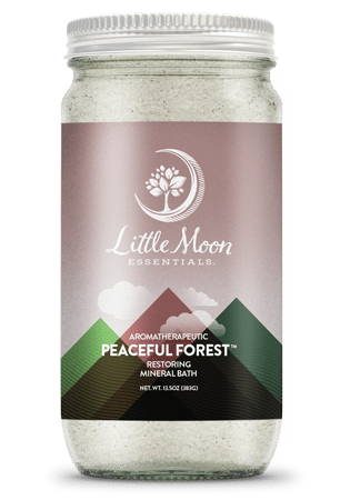 Little Moon Essentials Bath Salt 13.5oz - Peaceful Forest
