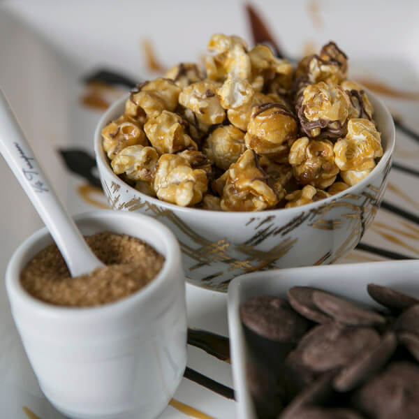 Cornucopia Popcorn Milk Chocolate Caramel Popcorn