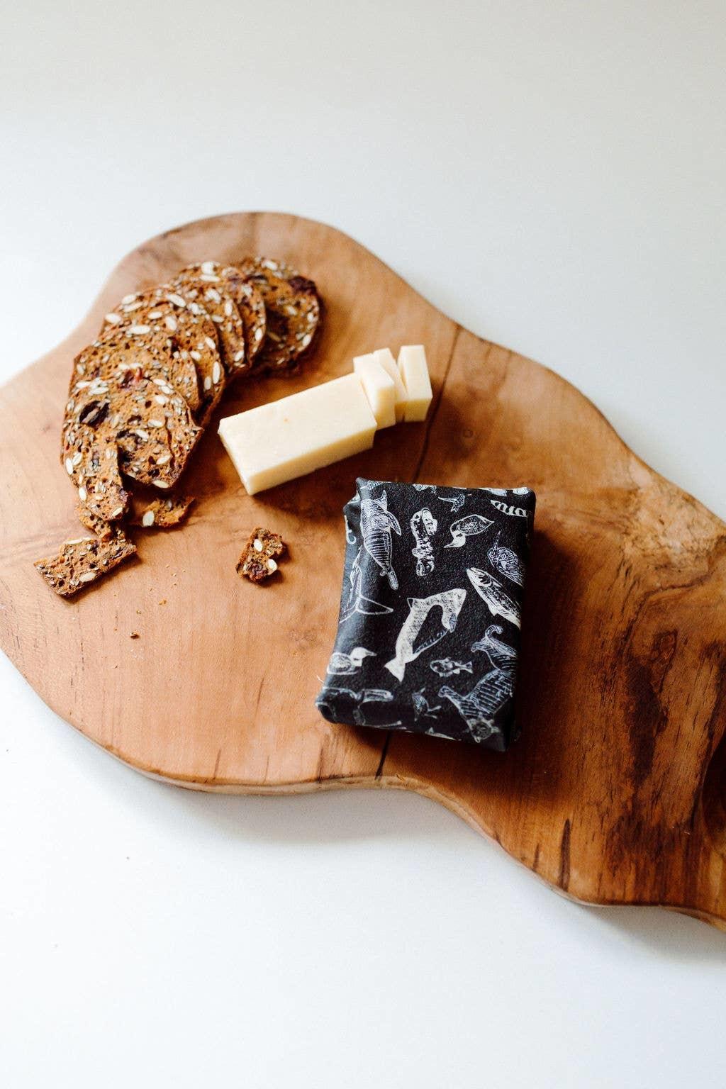 Goldilocks Sustainable Goods Species of Ucluelet Food Wrap Set of 3