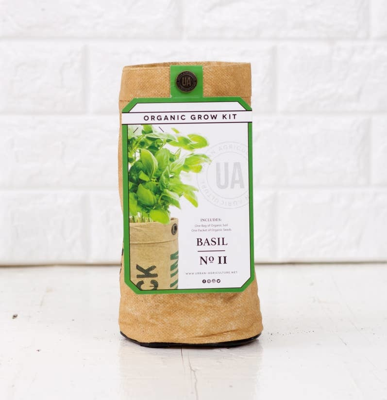 The Urban Agriculture Company Basil Grow Kit