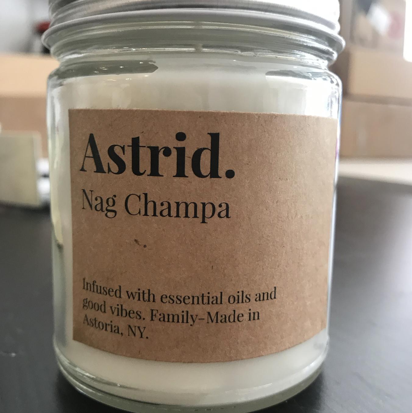 Astrid Paper & Home Astrid Nag Champa Candle