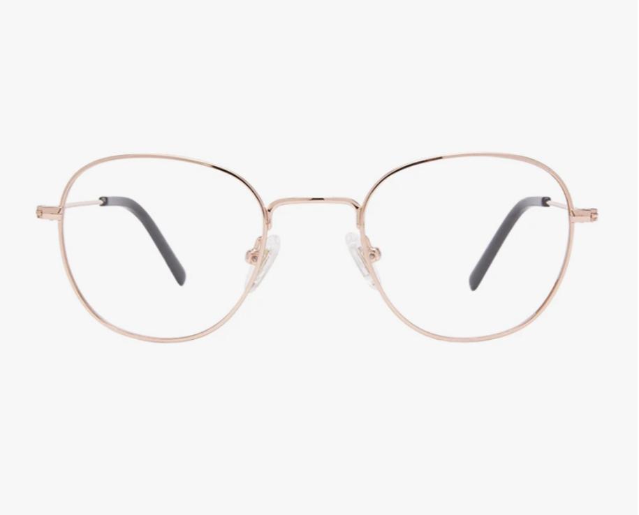 Diff Eyewear Sage - Rose Gold-FINAL SALE