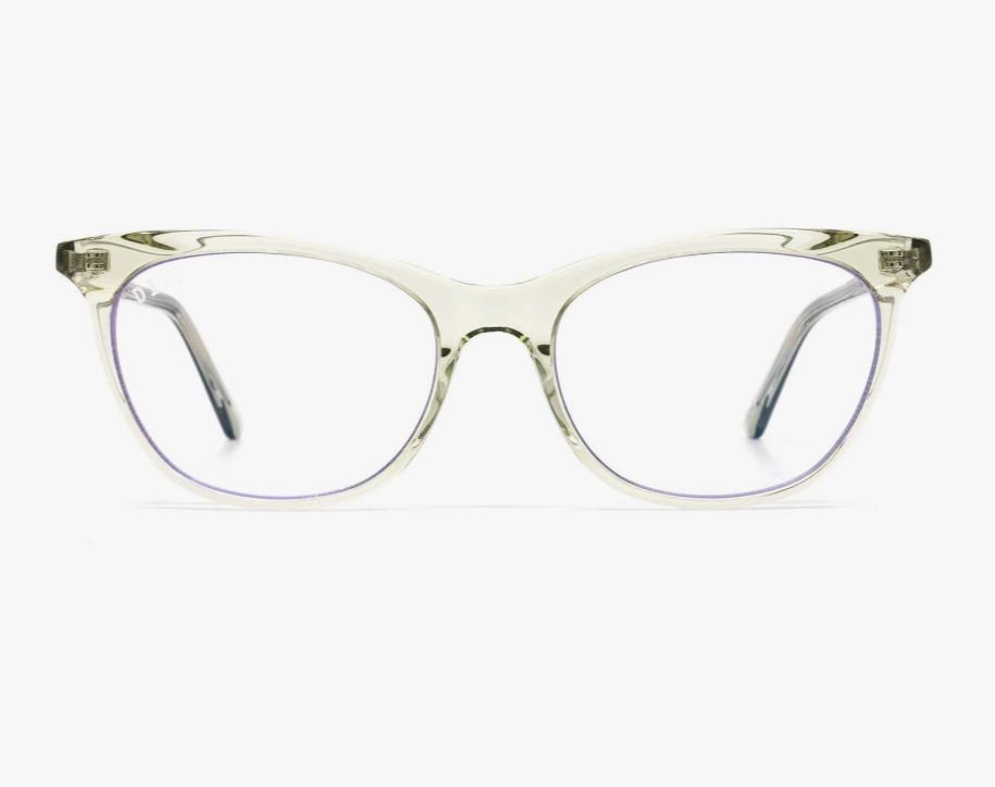 Diff Eyewear Jade - Olive Crystal