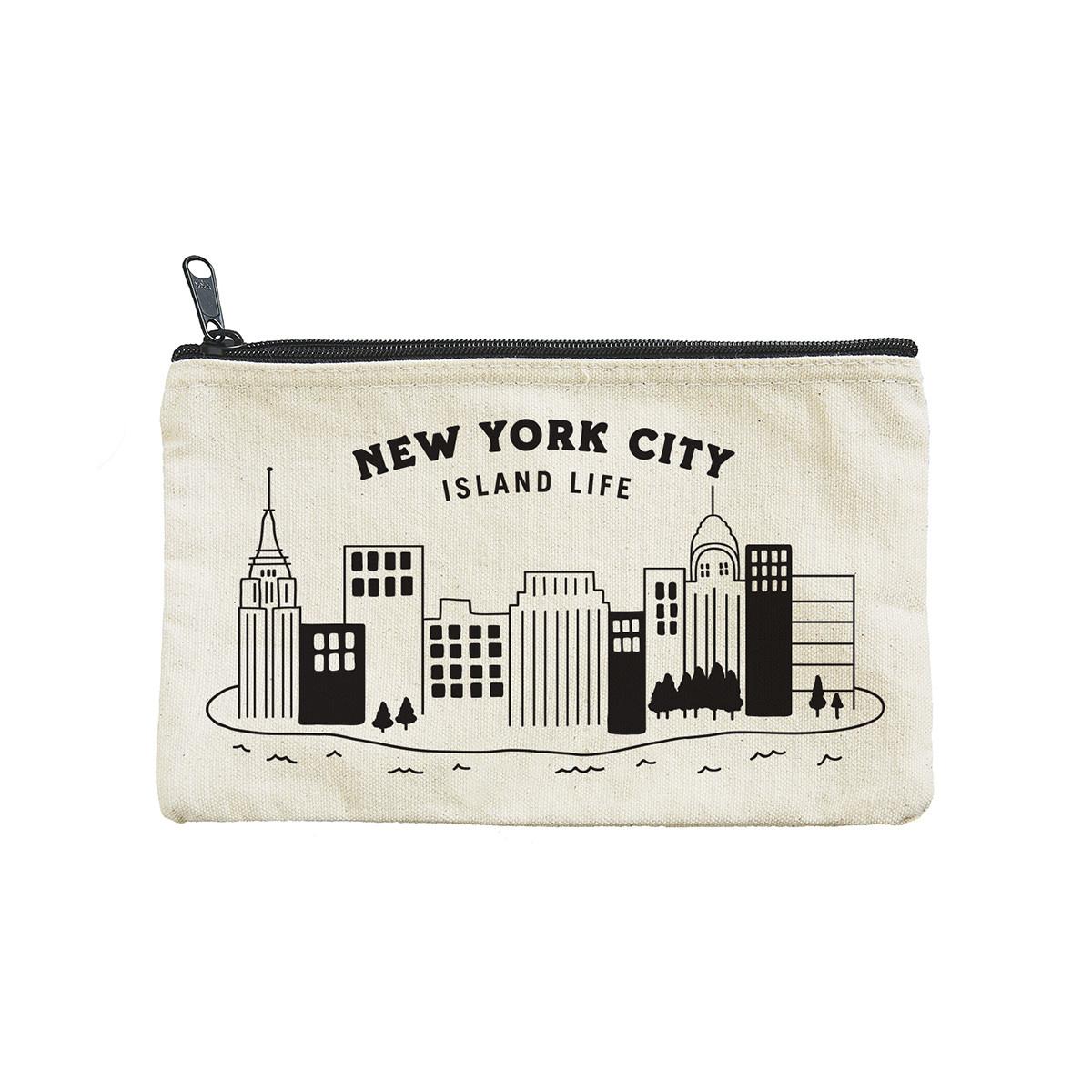 Seltzer Zip Pouch - NY Island Life