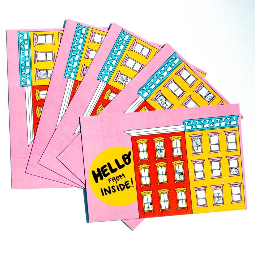 Rhino Parade Hello From Inside - Single or Set of 5