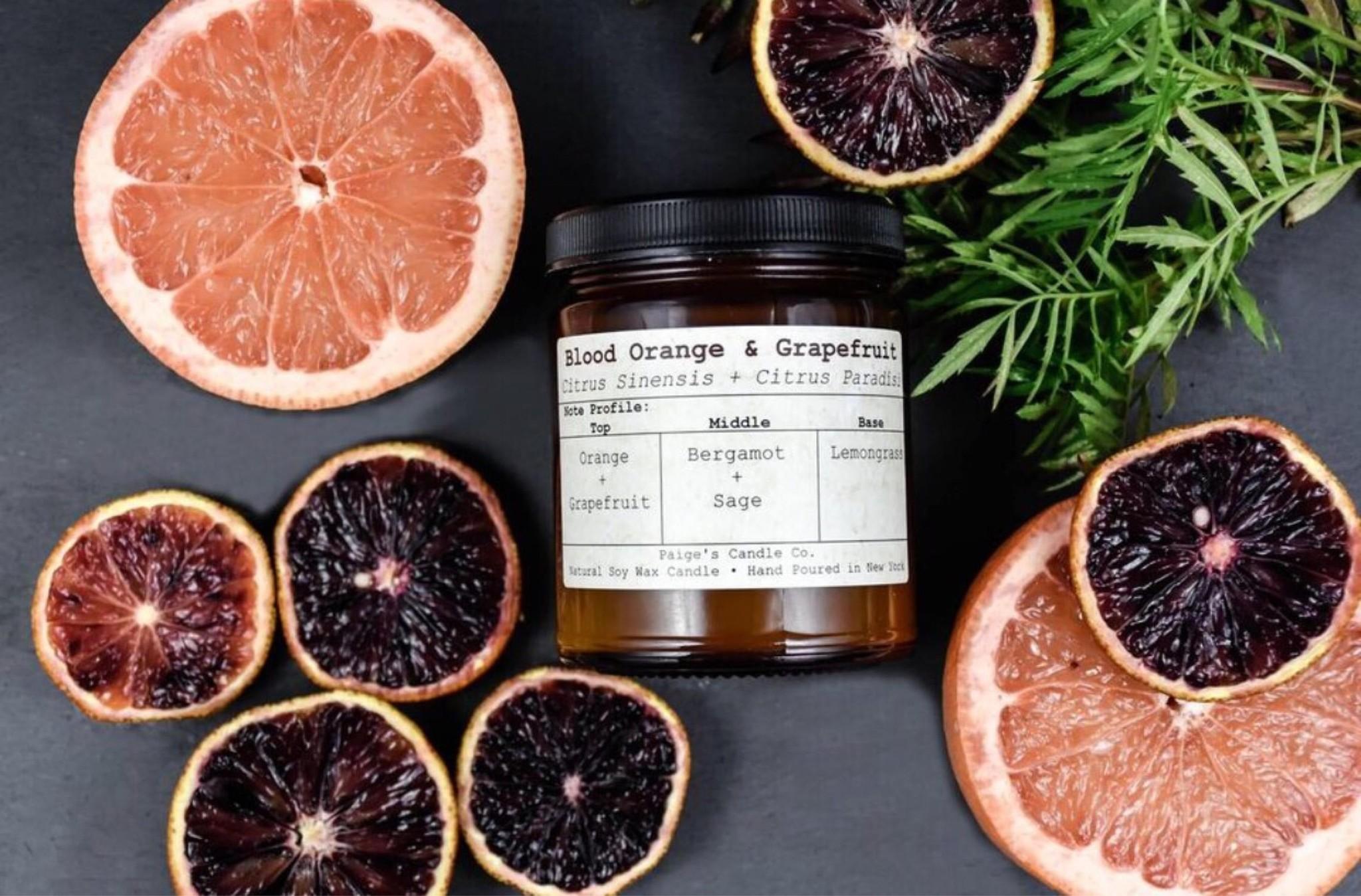 Paige's Candles Paige Blood Orange & Grapefruit