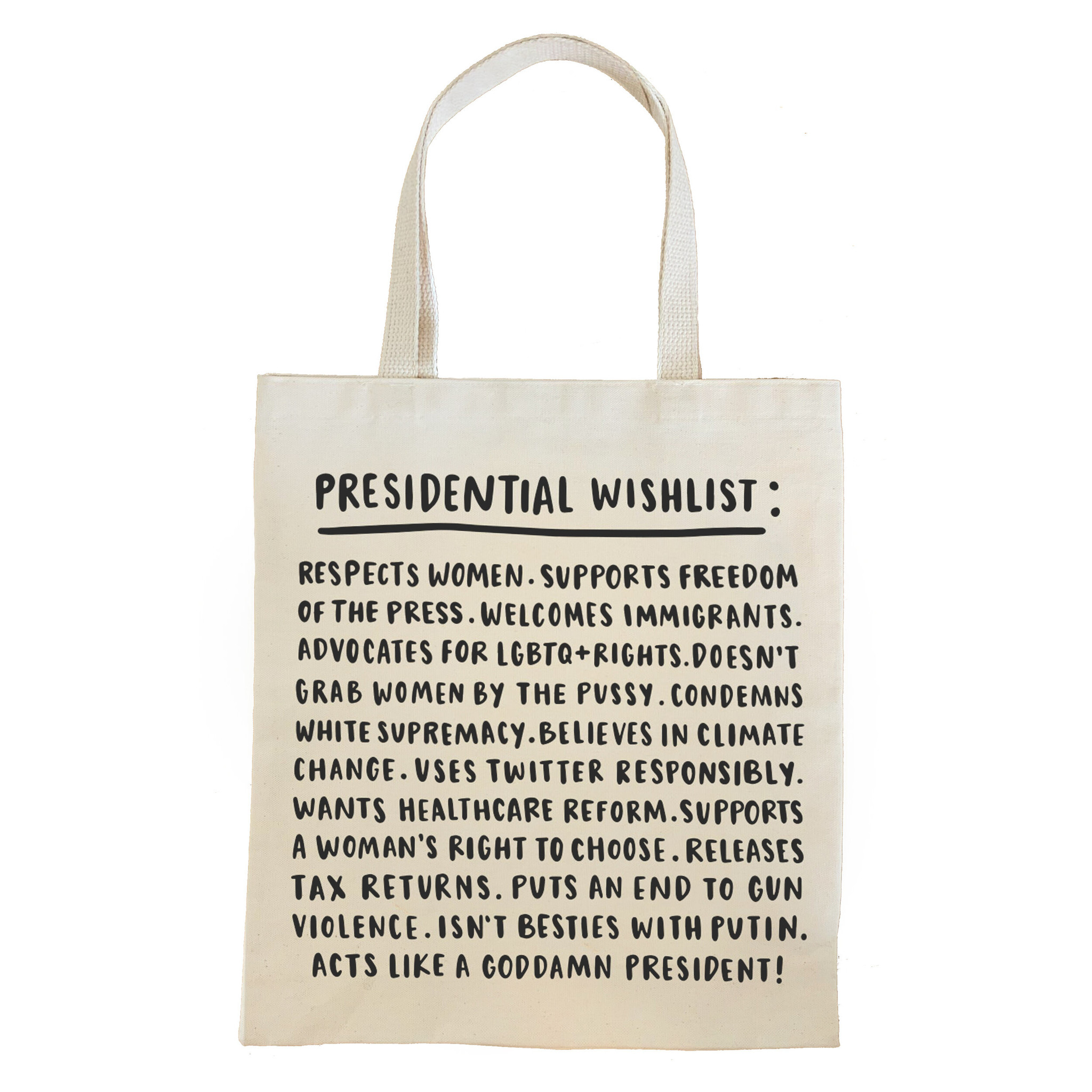 Brittany Paige Presidential Wishlist Tote - FINAL SALE