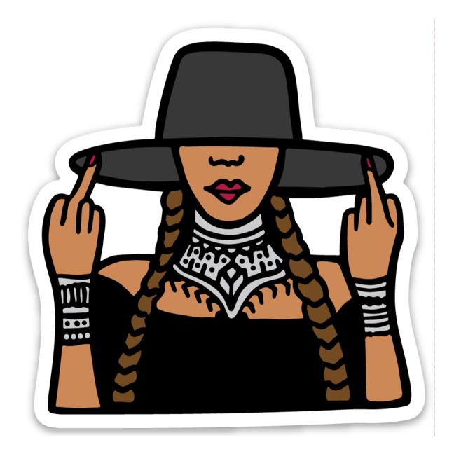 Brittany Paige Bey Sticker