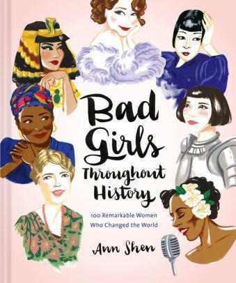 Chronicle Books Bad Girls History