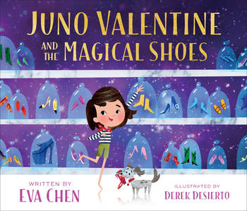 Macmillan Juno Valentine & The Magical Shoes