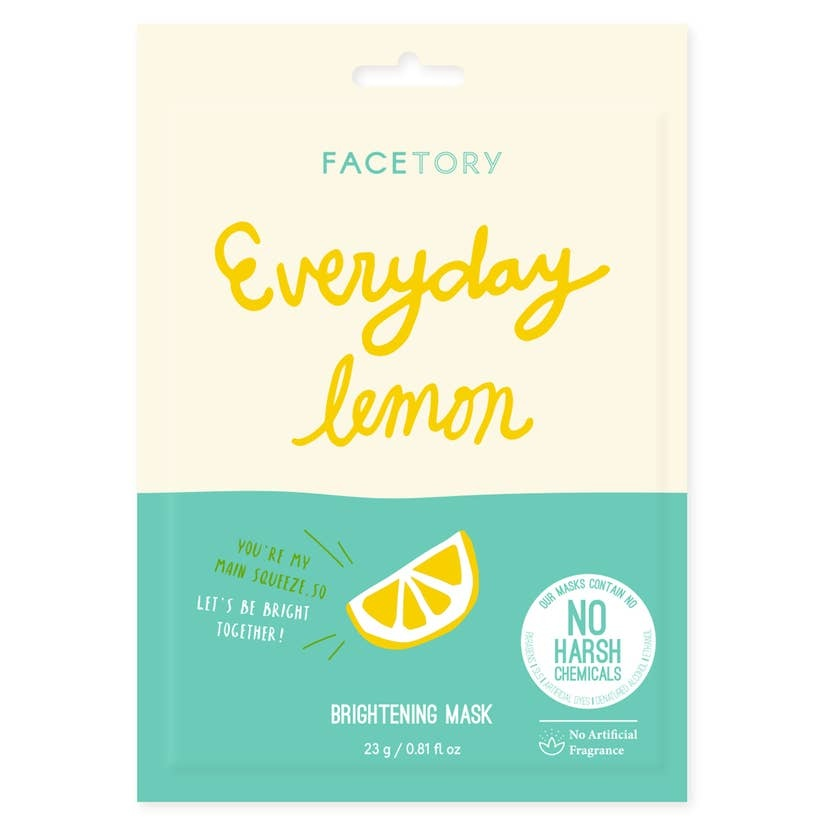 FaceTory Everyday, Lemon Brightening Mask