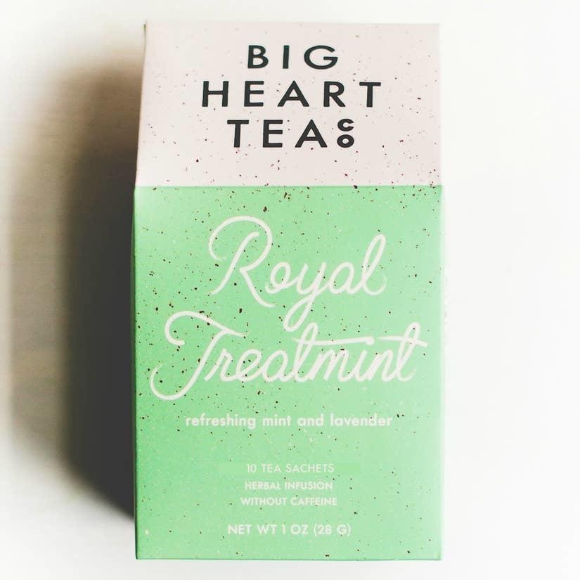 Big Heart Tea Co Royal TreatMINT Tea Bags