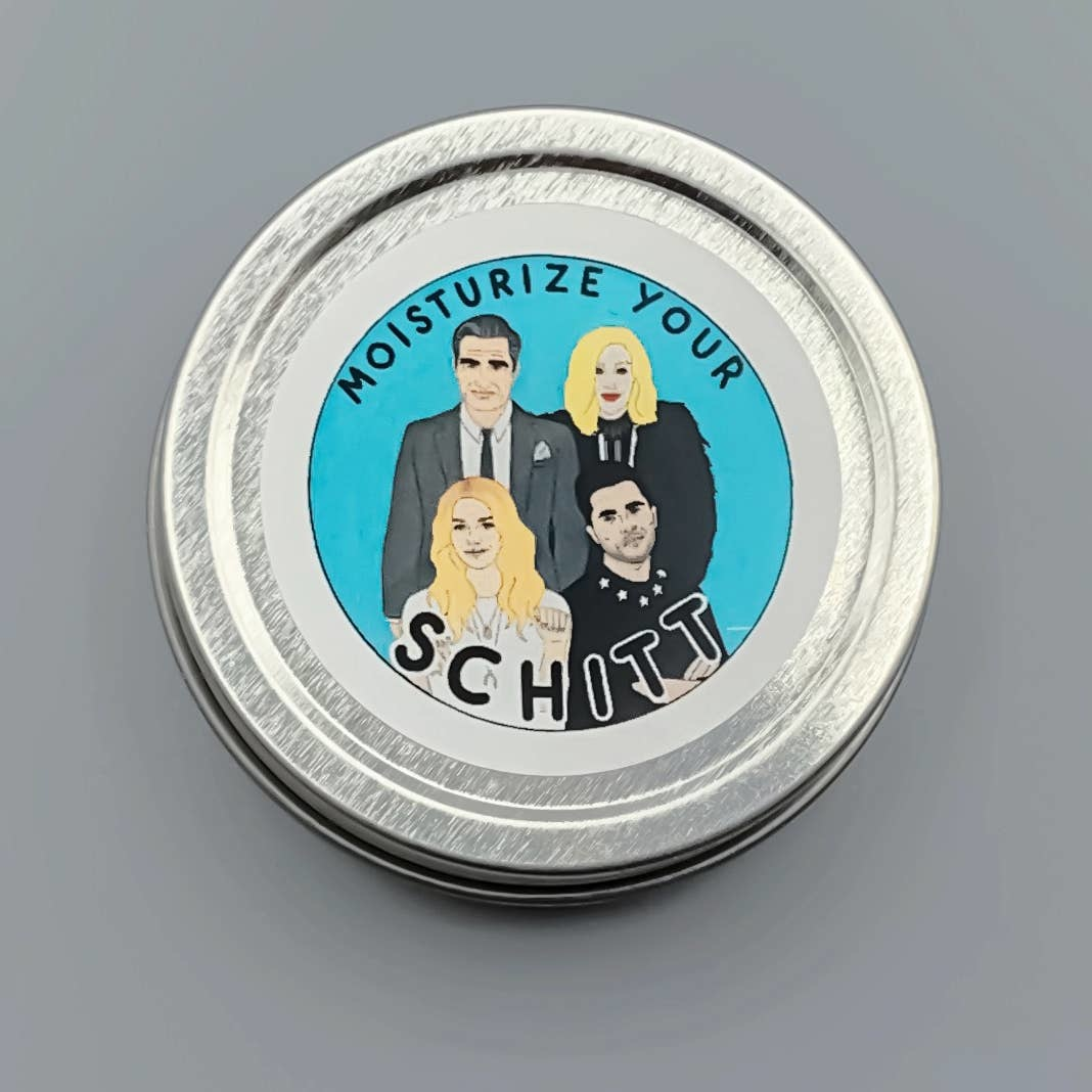 """Citizen Ruth """"Moisturize your Schitt"""" Lotion Tin-Honeysuckle&Lemongrass"""