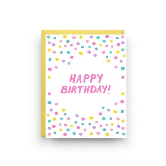Nicole Marie Paperie Birthday Confetti