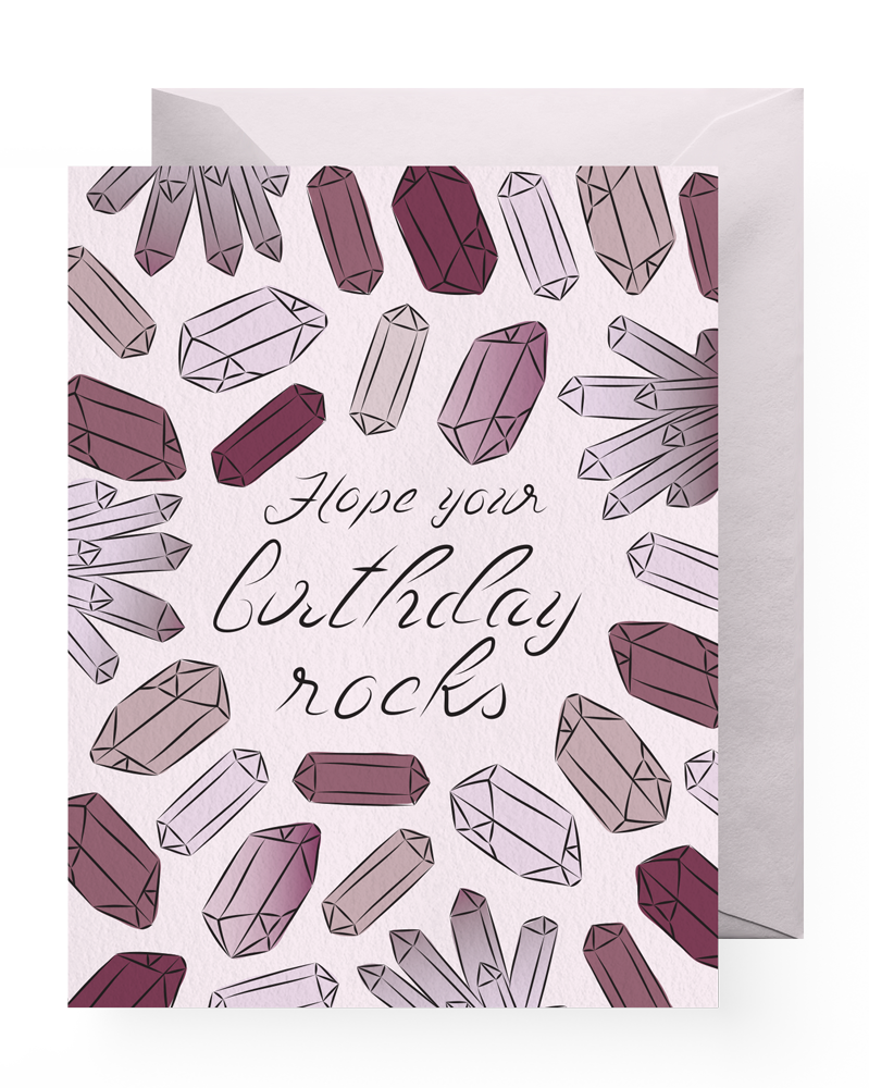 Boss Dotty Birthday Crystals