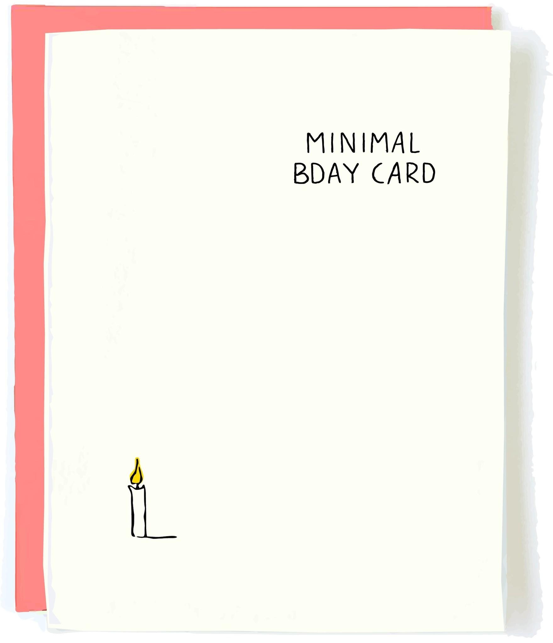 Pop + Paper Minimal Birthday