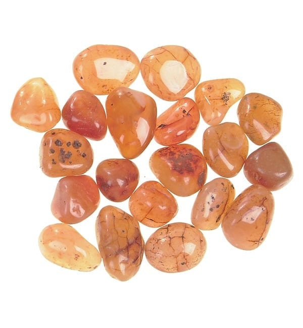 Nature's Artifacts Tumbled Stone - Carnelian Large