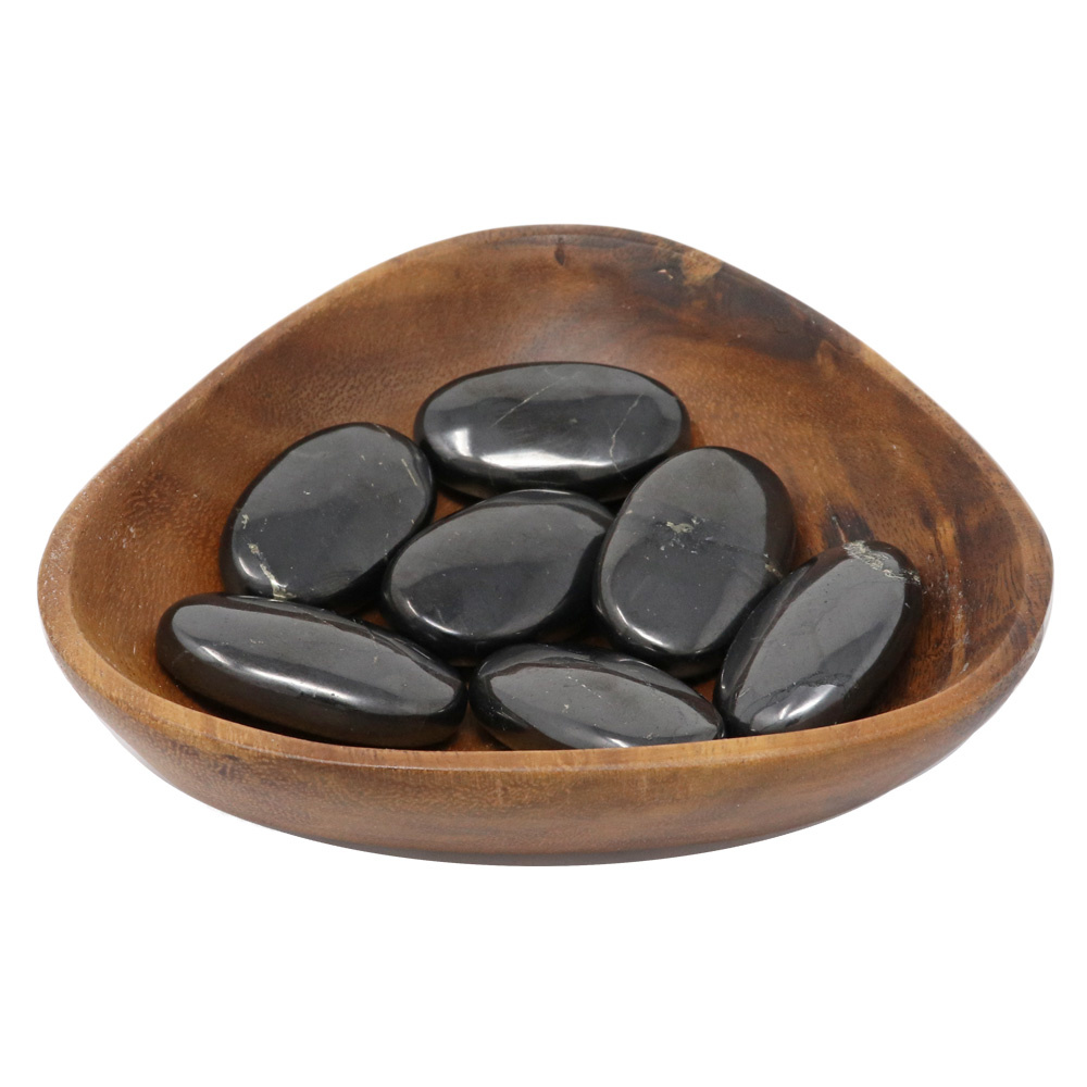Nature's Artifacts Tumbled Stone - Shungite