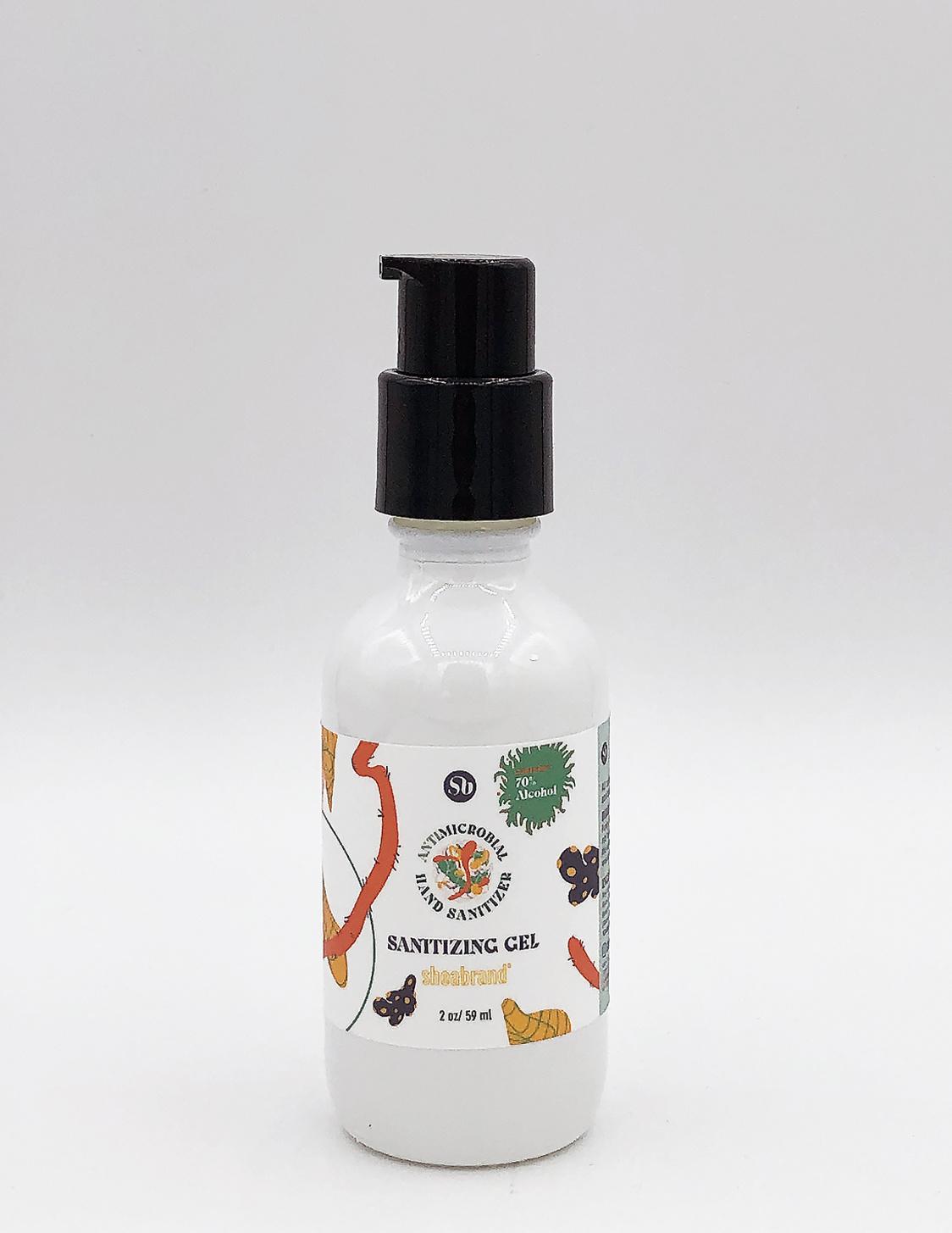 Shea Brand Hand Sanitizer Gel