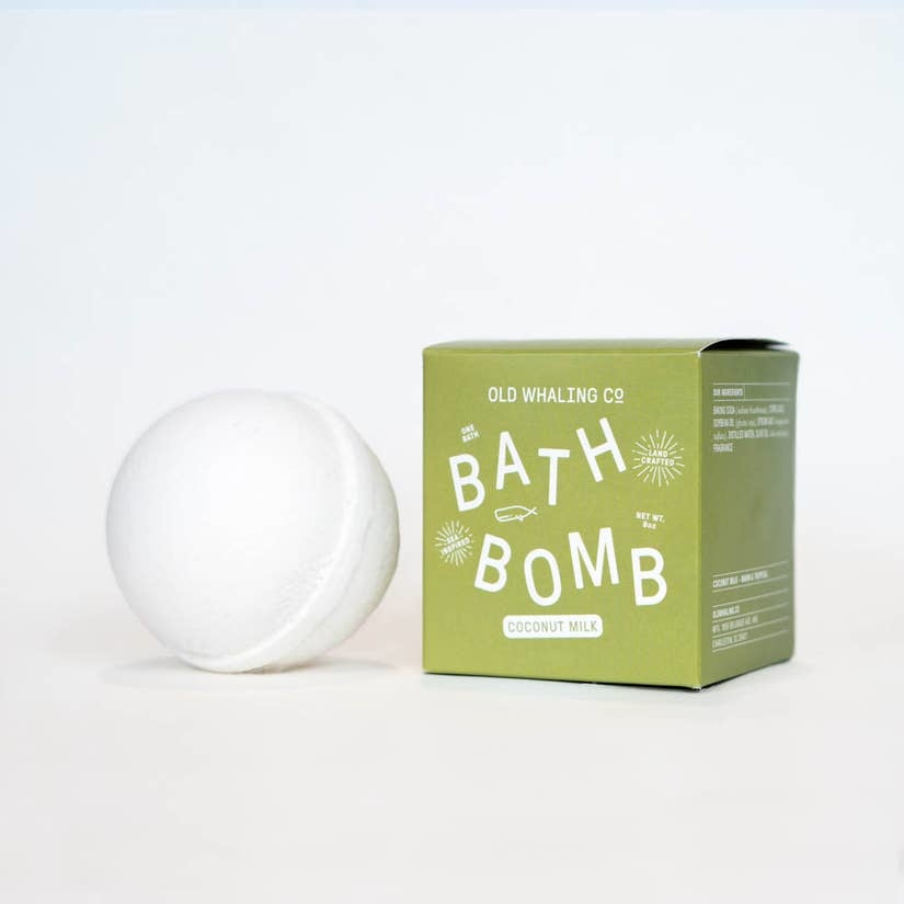 Old Whaling Company Coconut Milk Bath Bomb