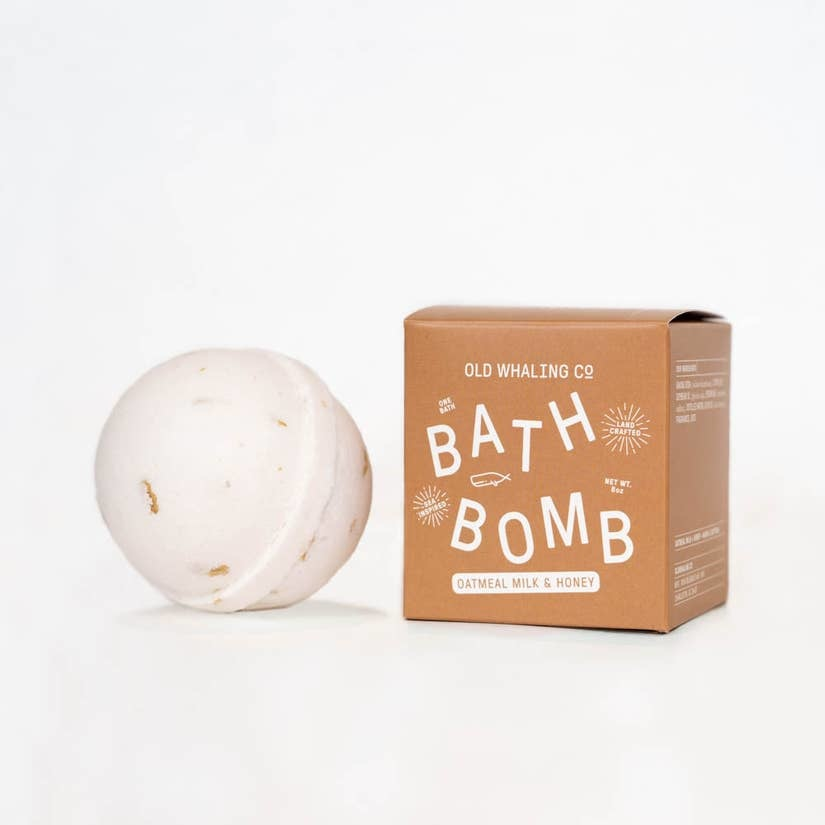 Old Whaling Company Oatmeal Milk + Honey Bath Bomb
