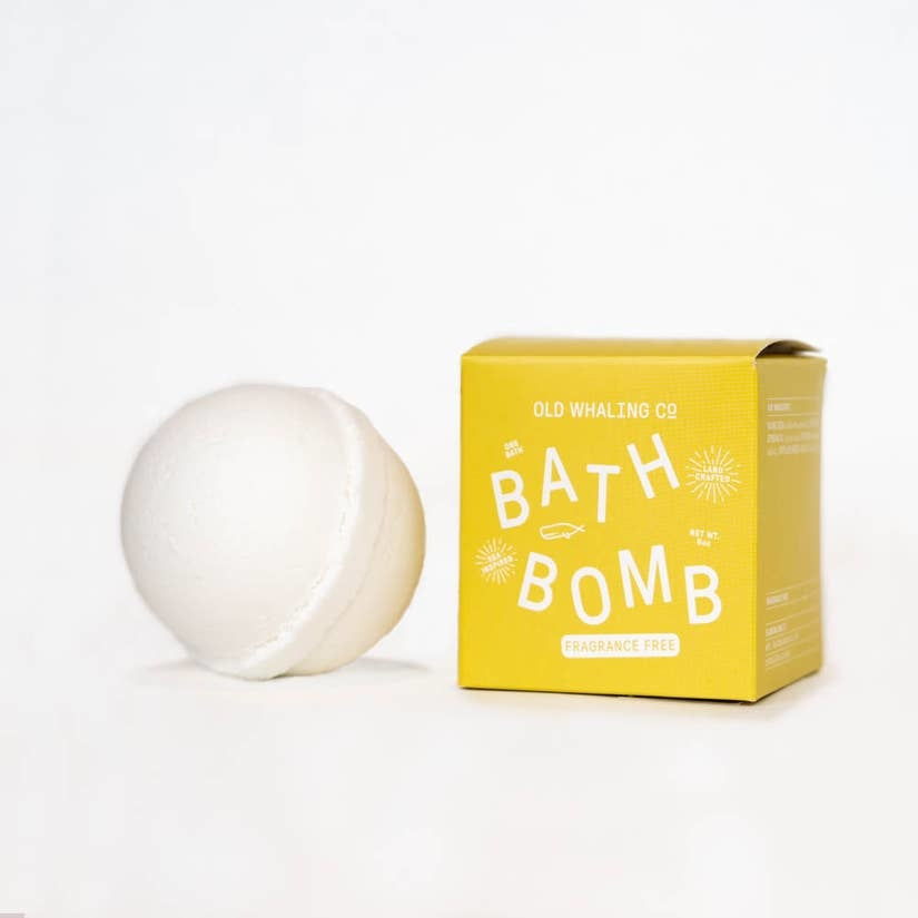 Old Whaling Company Fragrance Free Bath Bomb