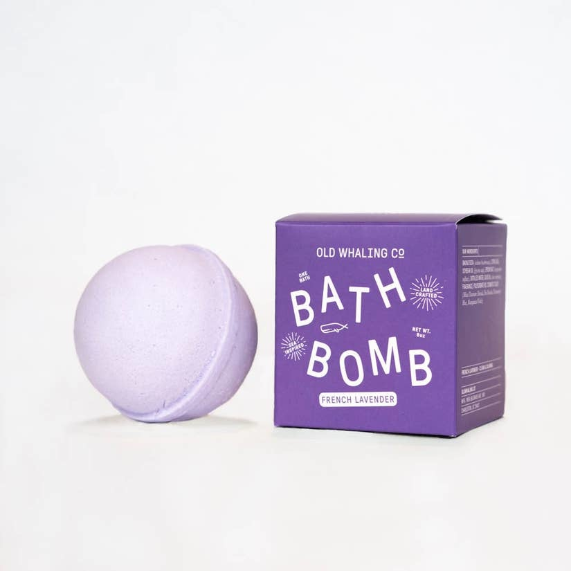 Old Whaling Company French Lavender Bath Bomb