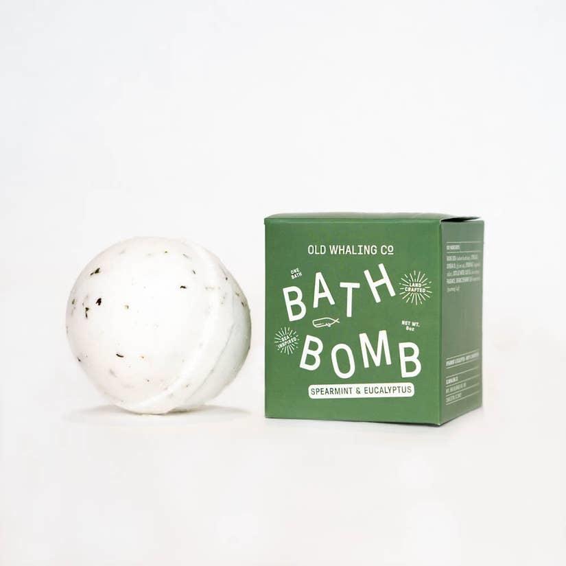 Old Whaling Company Spearmint + Eucalyptus Bath Bomb