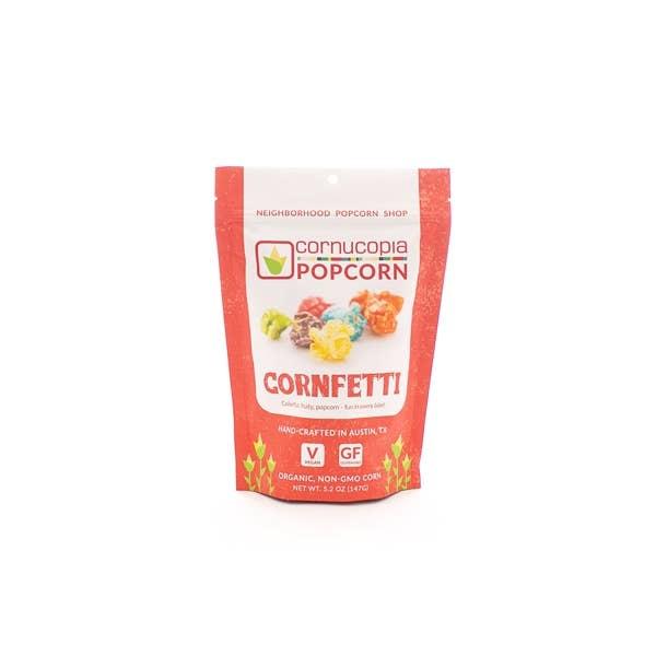 Cornucopia Popcorn Cornfetti Rainbow Popcorn