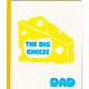 Greenwich Letterpress Big Cheese Dad