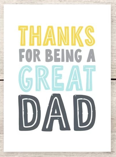 Haven Paperie Great Dad