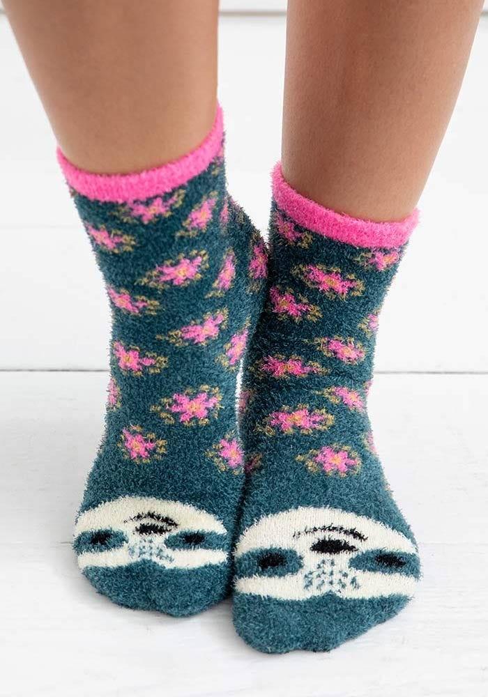Natural Life Sloth Cozy Sock