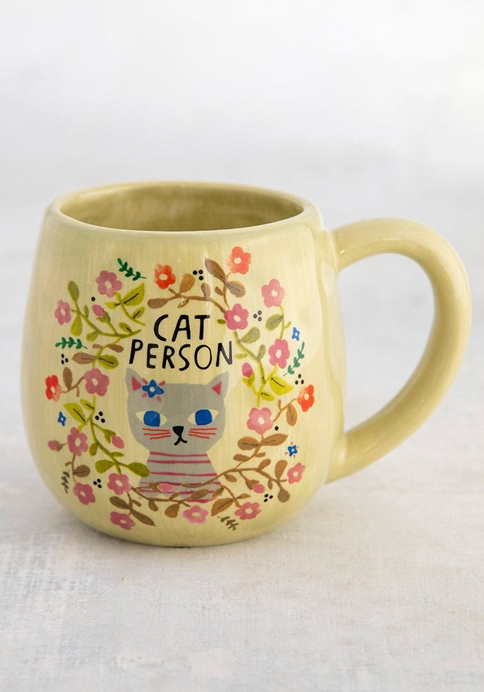 Natural Life Mug - Cat Person