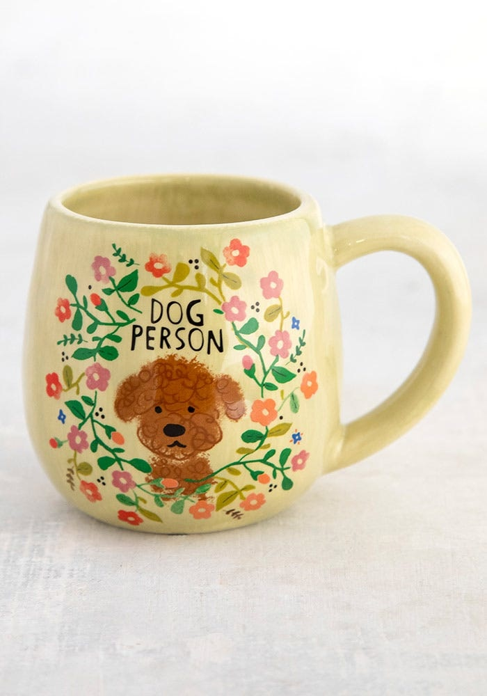 Natural Life Mug - Dog Person