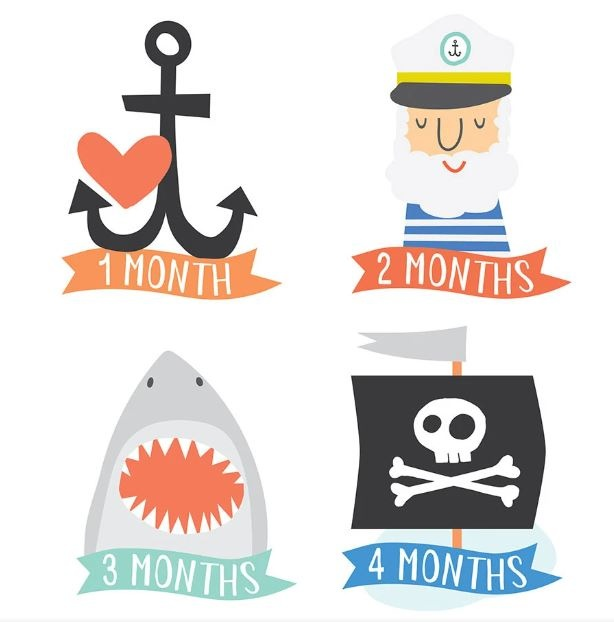 Lucy Darling Little Captain Sticker-FINAL SALE