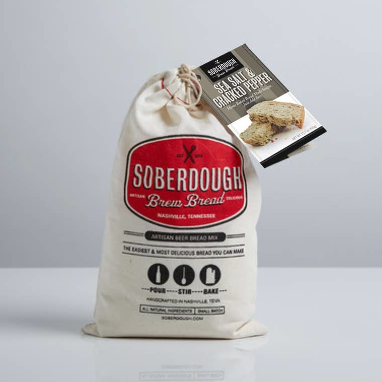 SoberDough SoberDough - Sea Salt & Cracked Pepper